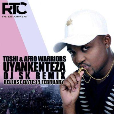 DOWNLOAD: Toshi & Afro Warriors - Uyankenteza (DJ Sk Remix) - Fakaza