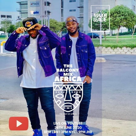 DOWNLOAD MP3: Major League – Amapiano Live Balcony Mix 21