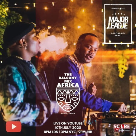 DOWNLOAD MP3: Major League – Amapiano Live Balcony Mix 23
