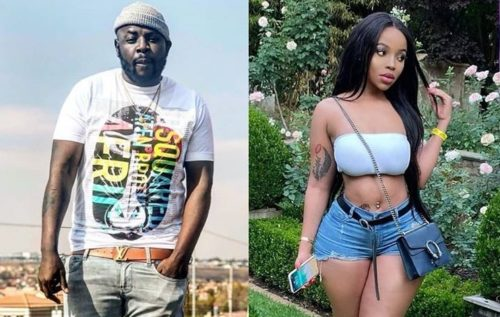 Fans react to a video of DJ Maphorisa's studio session with Faith Nketsi