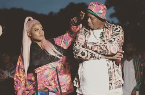 Mampintsha proposes to Babes Wodumo Live on radio – Watch