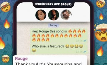 Rouge - W.A.G ft. Sarkodie & Yousspupha