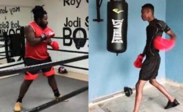 Big Zulu vs King Monada boxing prematch (Watch)