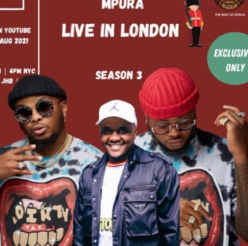 Major League & Mpura – Amapiano Balcony Mix Live In London (Tribute to Mpura)